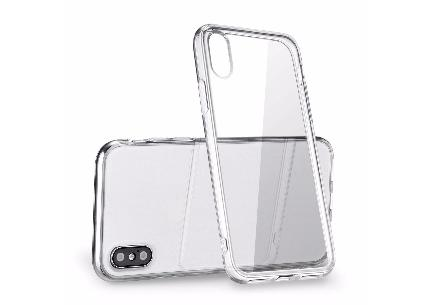For-Apple-iPhone-X-Case-Crystal-Clear-Bumper-Si